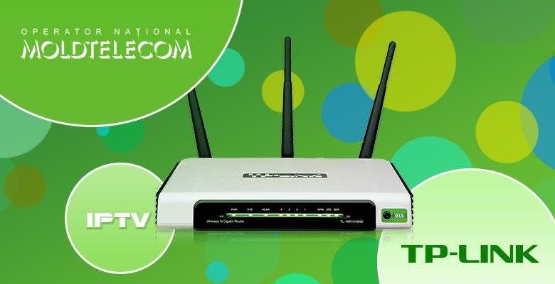 IPTV от Moldtelecom на TP-Link TL-WR1043ND — возможно!